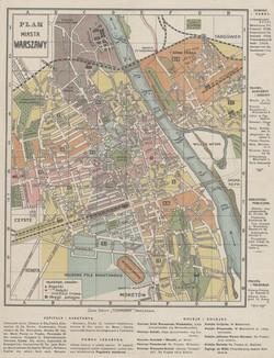 Warsaw Map