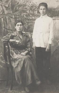 Baylka Olefsky and son