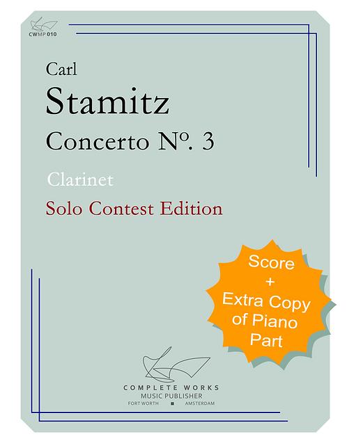 Stamiz: Concerto No. 3 - Clarinet and Piano