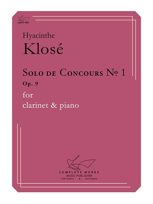 Klosé: Solo de Concours No. 1 (20 units @ $14.27 ea.)