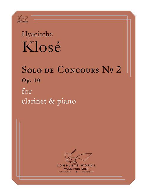 Klosé: Solo de Concours No. 2 (20 units @ $14.27 ea.)