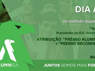 Dia Alumni, 23 de Novembro - ISA