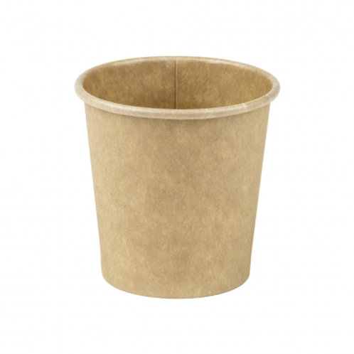 4oz/120mL Compostable Espresso Cup Brown Raw - Box 1000
