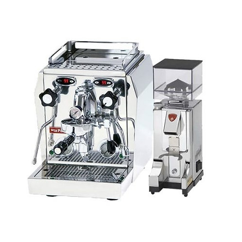 La Pavoni Professional Evo Dual Boiler PID Package