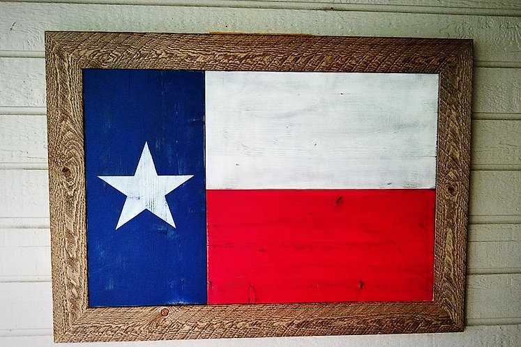Framed Big Tex