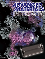 Cover page of Advanced Materials Interfaces 2016 Vol. 1