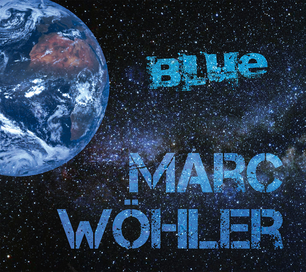 Cover Marc Woehler Blue
