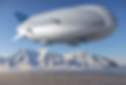 rendered image of an airship courtesy Lo