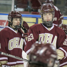 Gold vs. Maroon Hockey