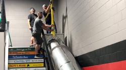 mike, matt, dan - old school heavy lifters