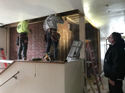 nick, mike, greg - old school building crew (renz construction)