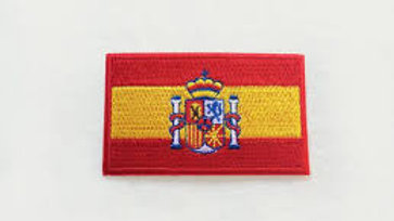 Spanish Flag Sew on Patch
