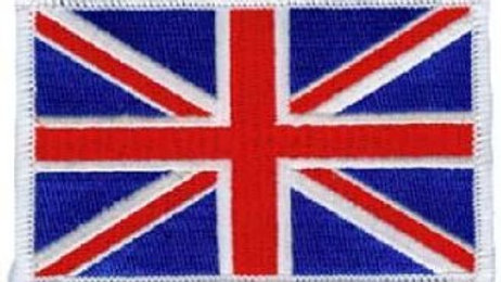 UK Flag Sew on Patch