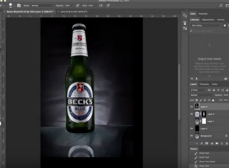 Retouching - a soul destructing chore or part of the creative process?