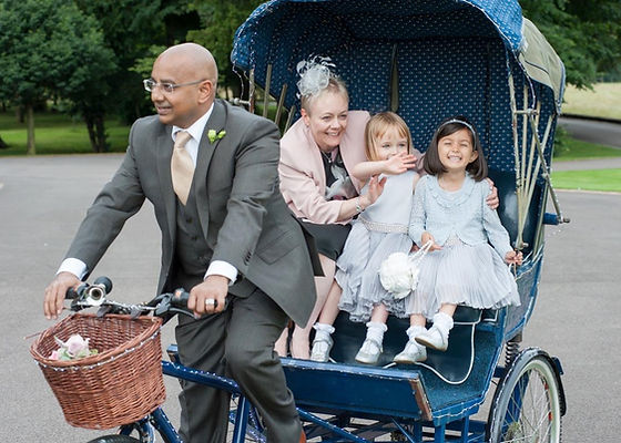 Bycycle themed wedding bike