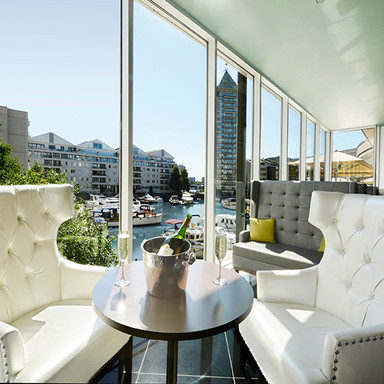 Drinks at Chelsea Harbour Hotel
