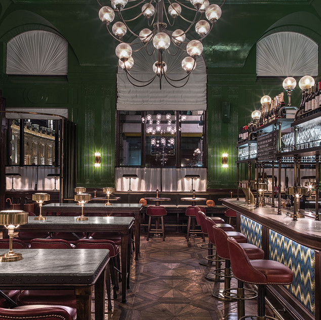 Drinks at the Wigmore - Langham Hotel