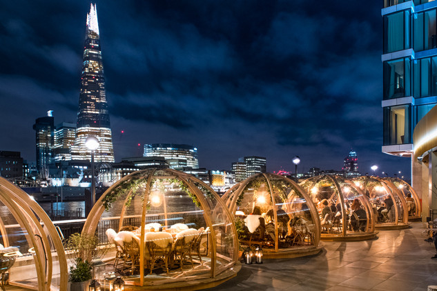 Dinner at Jimmy's Igloos by the Southbank