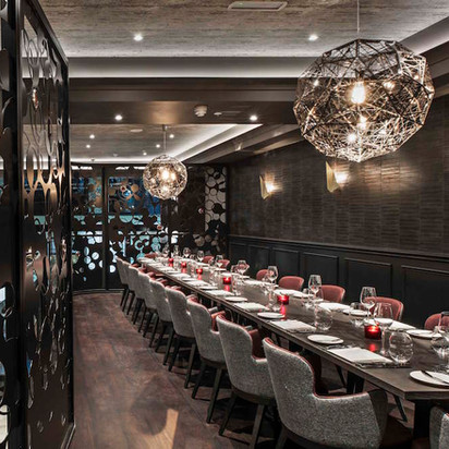 Private dining at M Victoria