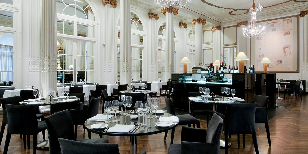 Dinner at The Waldorf Hilton - Homage Restaurant