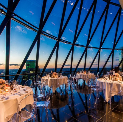 Searcys at the Gherkin Drinks Party