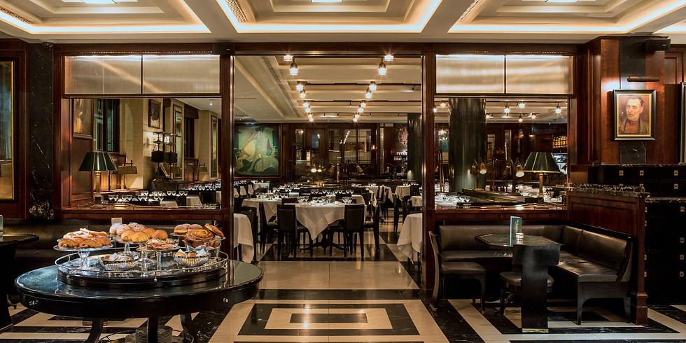 Dinner at Delaunay Café Restaurant