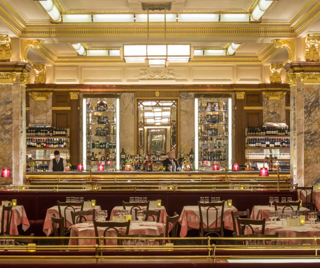 Dinner at Zedel Brasserie with live performance by Antonio Forcione