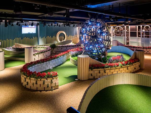 Crazy Golf at Swingers West End