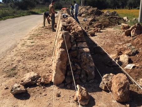 Muro a secco - Trockenmauer