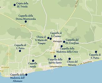 Votiv-Kapellen in Maruggio