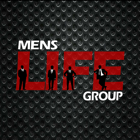 Mens life group logo with shillouettes 2