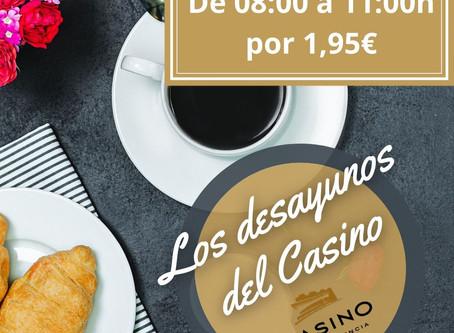 Vuelven los desayunos del Casino Cirsa Valencia