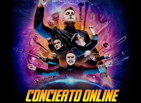 La orquesta valenciana Film Symphony Orchestra programa un espectacular concierto online fin de gira