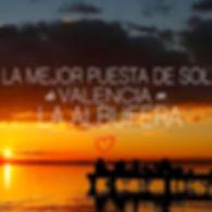 fotos mejor puesta de sol de valencia
