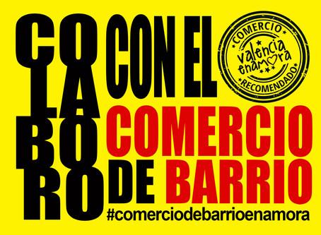 COLABORO CON EL COMERCIO DE BARRIO | El nuevo proyecto de Valencia Enamora #comerciodebarrioenamora