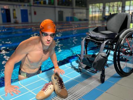 La marca de zapatillas alicantina Timpers colabora con deportistas paralímpicos