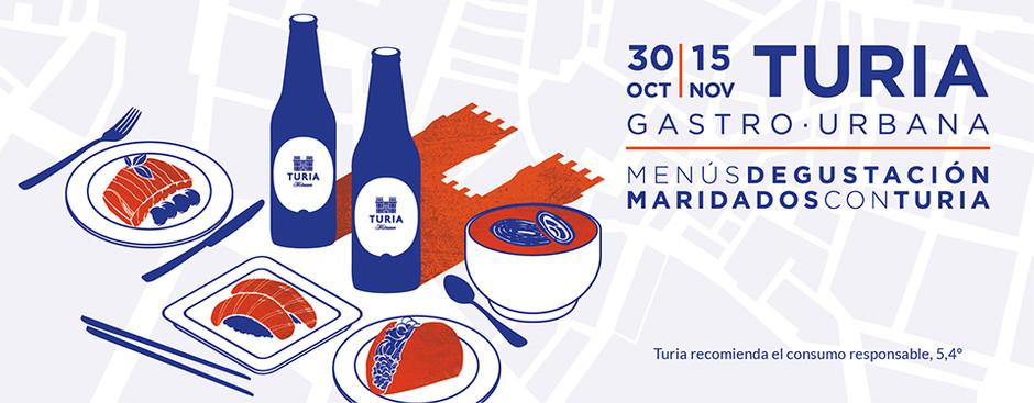 Los menús que podrás disfrutar en #TuriaGastroUrbana en Valencia