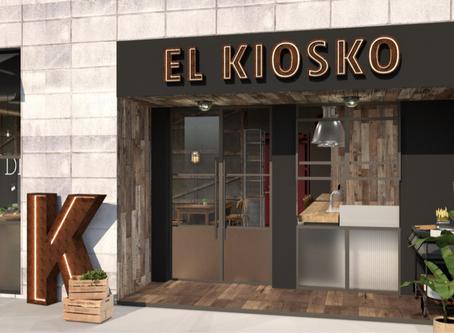 EL KIOSKO anuncia próxima apertura en Valencia a finales de mes