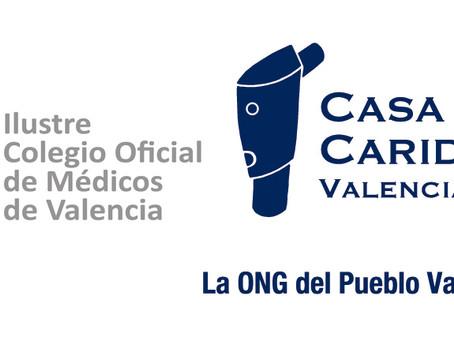 El Ilustre Colegio Oficial de Médicos de Valencia colabora con la Asociación Valenciana de Caridad