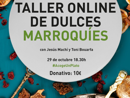 "Taller solidario de ""Dulces marroquíes"""