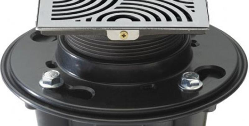 Cal luxury drain, deco swirl style