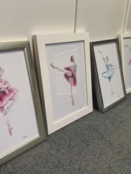 Ballerina Framed Prints