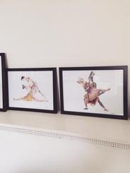 Ballet Framed Prints @oliviahollandartis