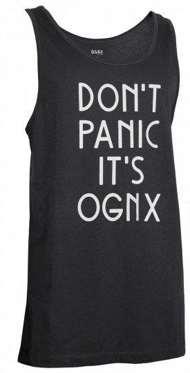 "Yoga Tank-Top unisex ""OGNX - Don't panic it's OGNX"""
