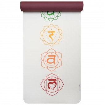 "Yogamatte ""Yogistar yogimat® pro - art collection"" chakra white/red"