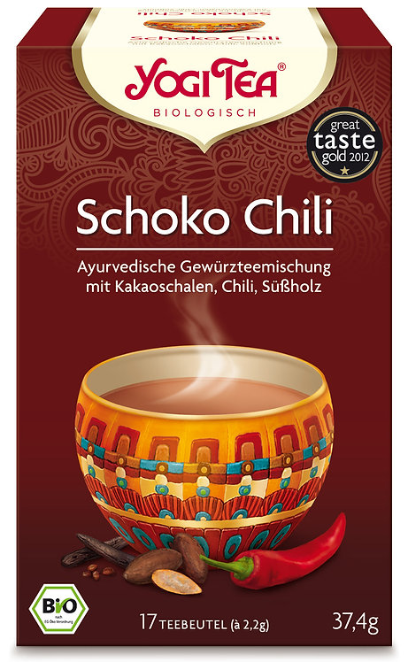 YOGI TEA - Schoko Chili