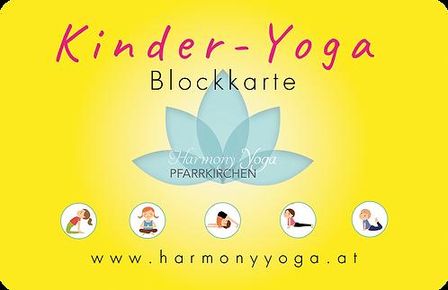Kinder-Yoga Blockkarte