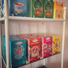 Verschiedenste Bio Teemischungen aus dem Store