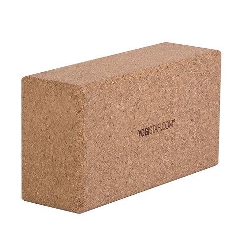 """Yogablock """"YOGISTAR yogiblock® cork basic"""" (22,5 x 12 x 7,4 cm)"""