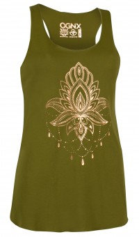 "Loose Tank-Top ""OGNX - Lotus"""